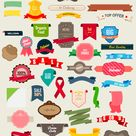 350+ Free Fabulous Labels, Borders and Frames | Clothed In Scarlet