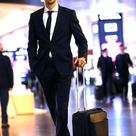 Leon Goretzka of Bayern Muenchen is seen prior to the departure of...