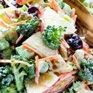 Broccoli Salad with Creamy Lemon Dressing - NatashasKitchen.com