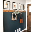 Simple & Affordable Fall Entryway • Mindfully Gray