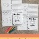Learning Numbers: Foldable Number Books