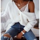 lace bodysuit outfit jeans casual