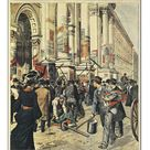 30cm Photo. General elections in Milan: confrontations between