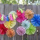 Paper Party Decorations