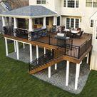 Custom TimberTech Deck/Porch, Bryn Mawr PA | 774 Sq Ft | Keystone Custom Decks