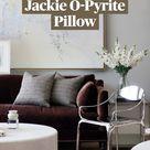 The Jackie O-Pyrite Pillow