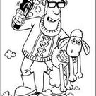 Coloring Pages Shaun the Sheep L0