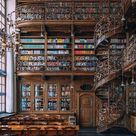 Munich's Law Library is a romantic Art Nouveau dream. Dating back to 1905, the atmospheric reading room is lined with bookshelves 10 metres high. It's a small but gorgeous room, featuring gleaming wood and gilded wrought iron spiral staircases.