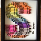 Crayon Letter
