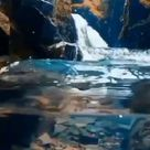 Cristal clear water