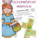 KOSTENLOS Würfelspiel Ostern – Unterrichtsmaterial in den Fächern DaZ/DaF & Deutsch & Fachübergreifendes