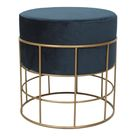 Horton Stool Blue - Blue