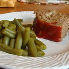 Meatloaf with Panko Bread Crumbs