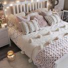 60+ Cozy Home Decorating Ideas For Girls Bedrooms | Room design bedroom, Bedroom interior, Small bedroom designs