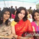 Indian womens in saree dress