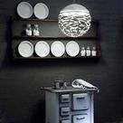 Lodes-Studio Italia Kelly Pendelleuchte weiß, Handgefertigt in Italien, Wohnzimmer/Schlafzimmer, Metall Pendellampe E27