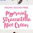 Peppermint Stracciatella Nice Cream
