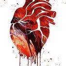 Human Heart 3 by Erzebet S