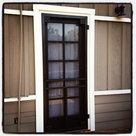 Painted Screen Doors