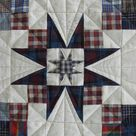 Hand Made Quilt  Stars of Plaid Quilt Pattern    Etsy