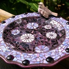Mosaic Bird Baths