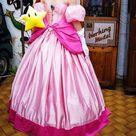Princess Peach new supersmash bros Mario Nintendo inspired cosplay dress costume made to order