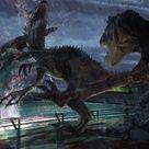 A Jurassic World of Concept Art