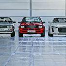 Audi quattro, sport quattro und quattro concept