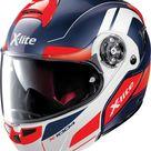 X-Lite X-1004 Charismatic N-Com, flip-up helmet Dark Blue/Red/White