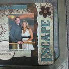 Cruise Scrapbook Pages