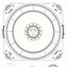 Written Natal Chart Report and Hand Drawn Astrology Chart (Modern Style)