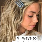 4+ ways to  style hair clips