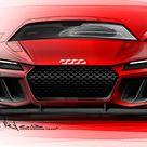 Audi quattro Sport e tron 2013 Hybrid Supersportler als Studie zur