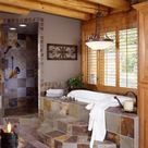 Log Cabin Bathrooms