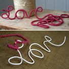 Decorated Clothes Hangers