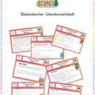 Stationskarten Literaturwerkstatt (Leserolle)