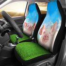 Funny Pig Custom Car Seat Covers