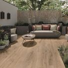 Villeroy und Boch Terrassenplatte Vilbogarden Oak Line caramel 40x120 cm