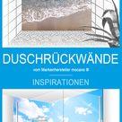 Inspiration Duschrückwände - Duschen am Strand