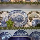 Blue White Kitchens
