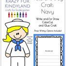 Veterans Day Craft for Kindergarten with Navy Soliders