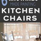 7 Mistakes People Make Painting Kitchen Chairs - Painted Furniture Ideas