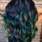Light to Dark Green Hair Colors - 20 Ideas to See (Photos)