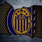 Descargar fondos de pantalla Rosario Central, 4k, Superliga, logotipo, grunge, Argentina, fútbol, club de fútbol, de metal textura, el arte, Rosario Central FC besthqwallpapers.com