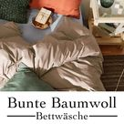 Bunte Baumwoll-Bettwäsche