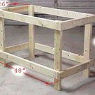 Build a DIY Workbench for $20