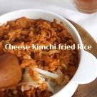 Cheese Bacon Kimchi fried Rice