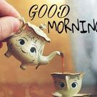 Mini Teacup Good Morning Picture