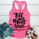 Till We Meet Again Prostate Cancer - Tank / L / Hot Pink
