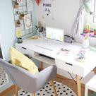 {Deko} Mein neues Home-Office | mein feenstaub